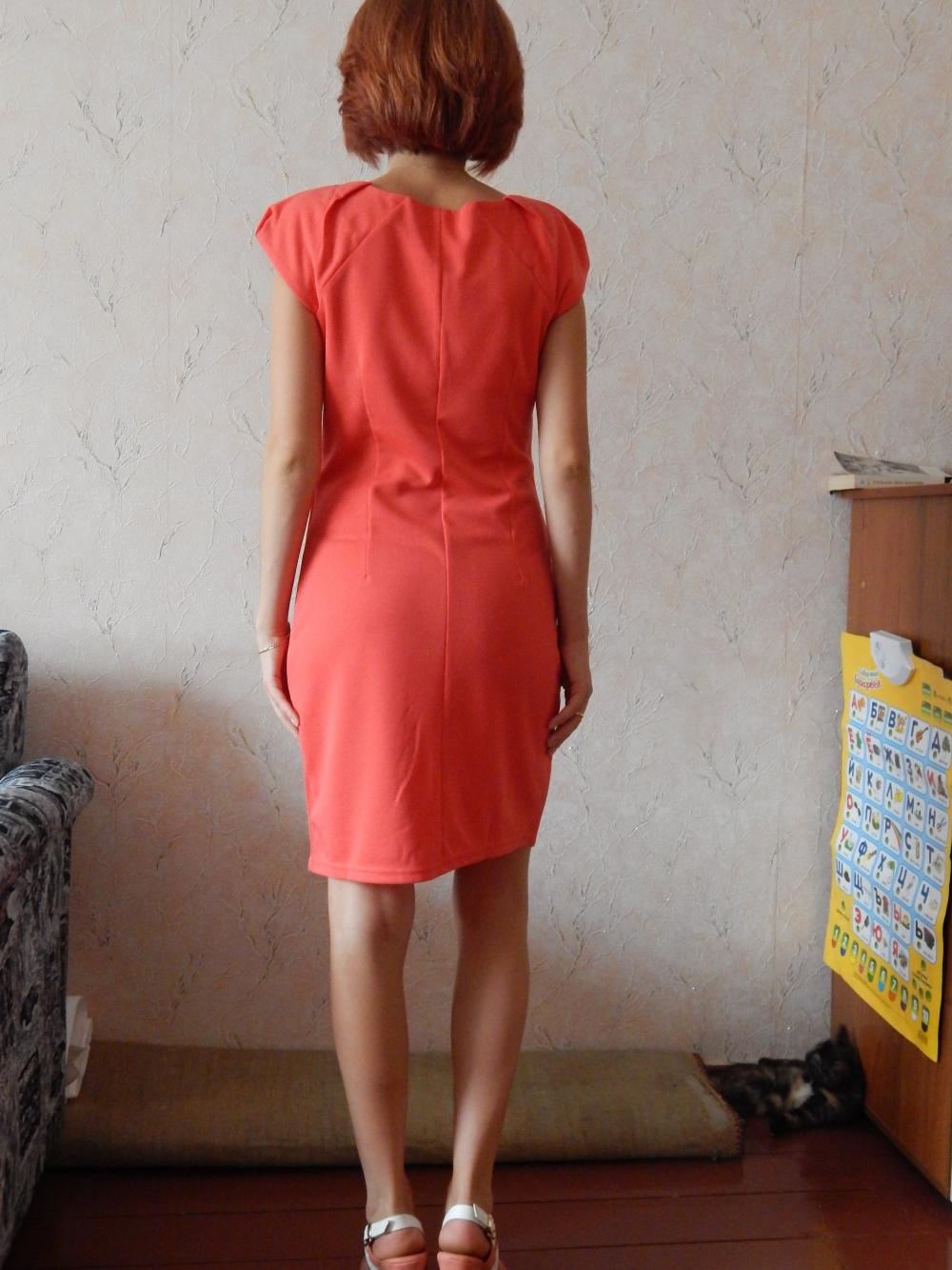 Просвечиваемое платье
