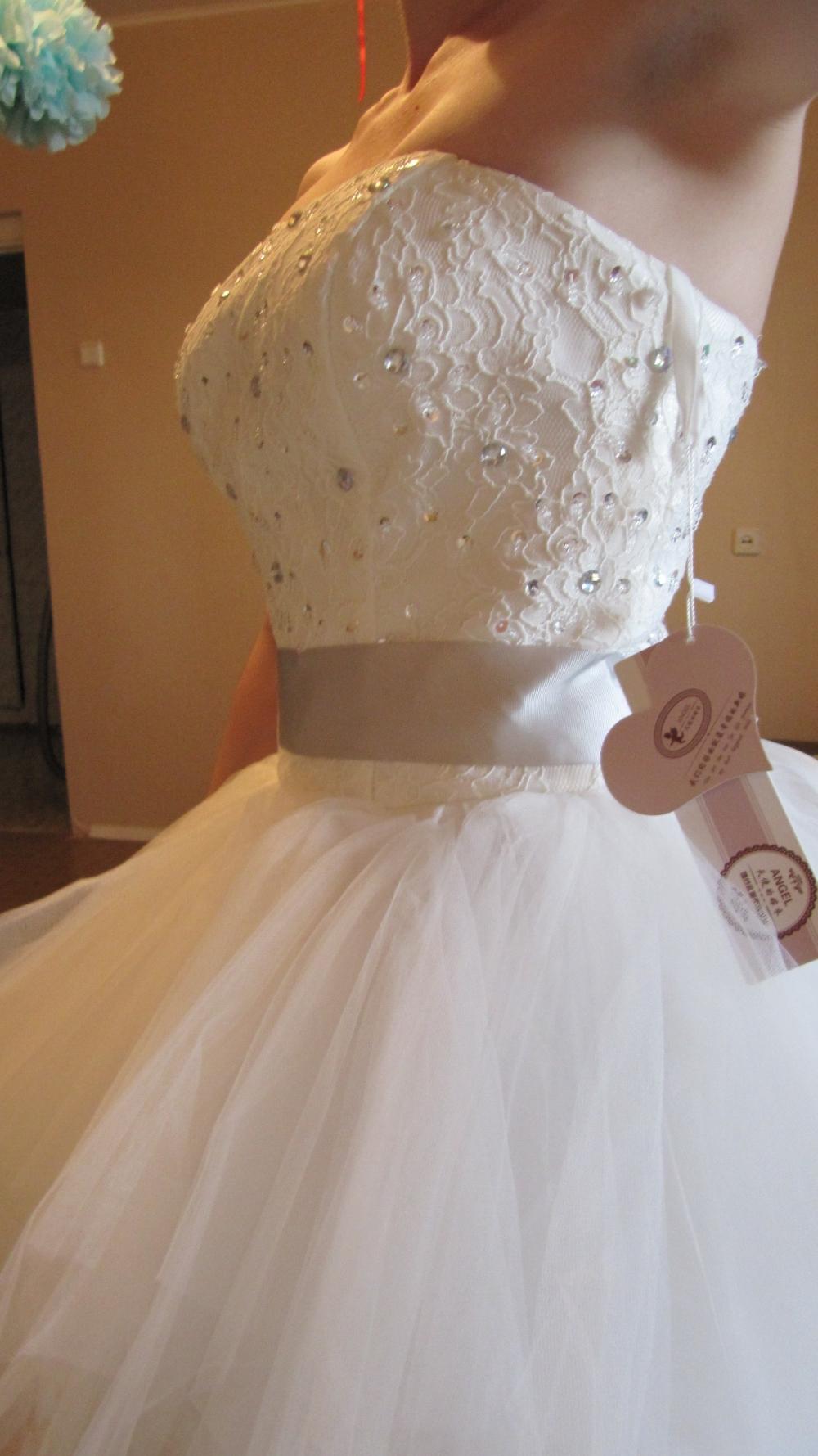 Как сшить свадебное платье просто так 258
